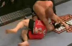 kimura1 GSP vs Dan Hardy Kimura Attempt UFC111