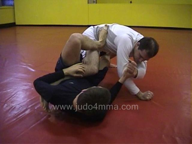 Click for a video showing a Judo for MMA technique called Ashi Garami - Entangled Leg Lock for MMA - keywords are: judo mma judo4mma judoformma grappling grapple jujitsu bjj submission joint lock fight fighting leg entangle entanglement tap tapout lock submit ufc mma