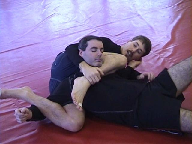 Click for a video showing a Judo for MMA technique called Two Sankaku Jime variants from the Jigoku Jime position - Two triangular chokes from one position