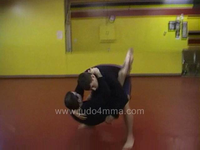 Click for a video showing a Judo for MMA technique called Daki Age for MMA - High Lift for MMA