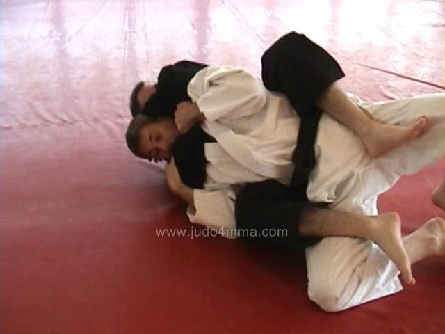 Click for a video showing a Judo for MMA technique called Escape from Rear Naked Choke in Grapevine