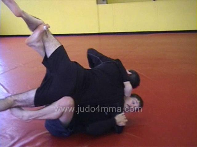 Click for a video showing judo and MMA techniques - Escapes, Sweeps, and Reversals - 2
