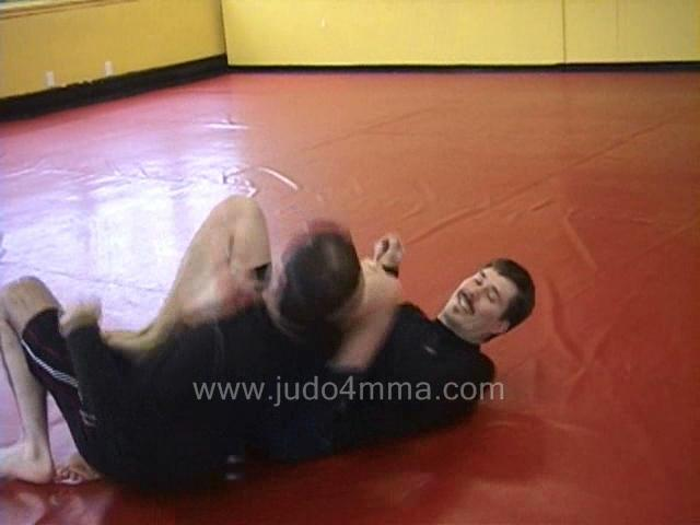 Click for a video showing judo and MMA techniques - Escapes, Sweeps, and Revesals - 7
