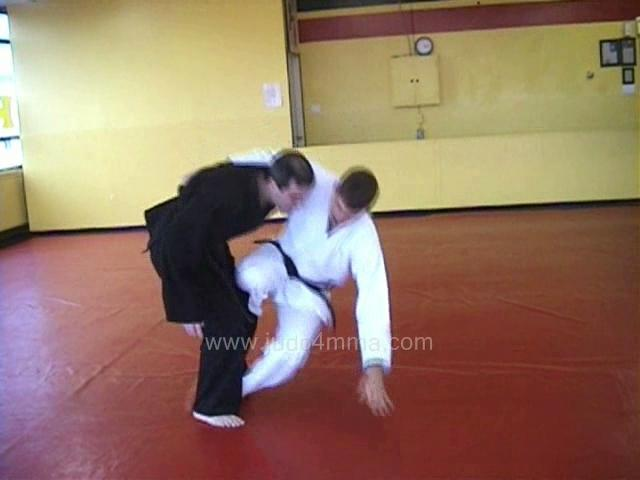 Click for a video showing a secret Judo technique called Kakure Gaeshi - Kakure's reversal throw, countering a hip throw