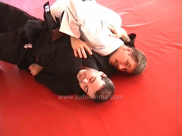 Click for a video showing a Judo technique we like to call Kakure Gatame - Kakure's version kesa gatame