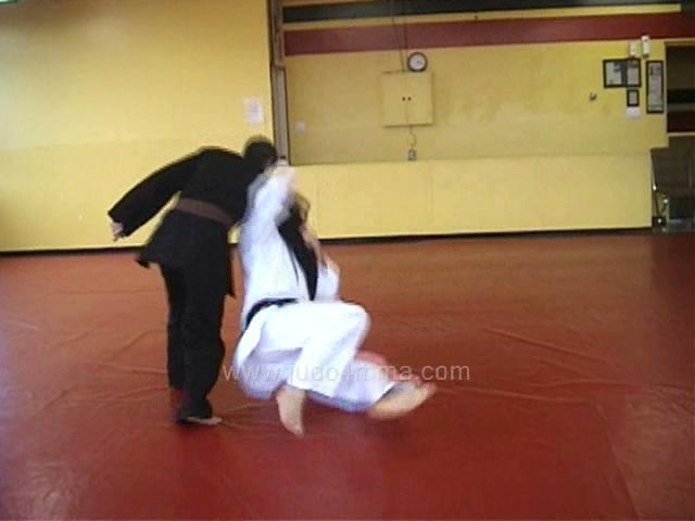Click for a video showing a Judo technique we like to call Kakure Wakare - Kakure's version of yoko wakare (side separation)