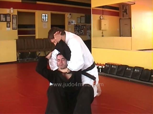 Click for a video showing a traditional Judo technique called Kata Ha Jime - Single Wing Choke
