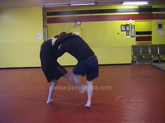 Click for a video showing a Judo for MMA technique called Ko Soto Gari for MMA - Minor Outer Reaping for MMA