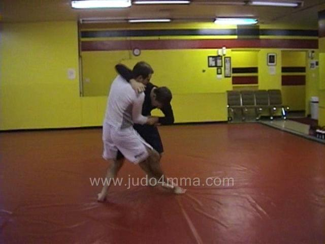 Click for a video showing a Judo for MMA technique called Ko Uchi Gari for MMA - Minor Inner Reaping for MMA
