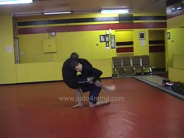 Click for a video showing a Judo for MMA technique called Morote Gari for MMA -Double Leg Takedown for MMA