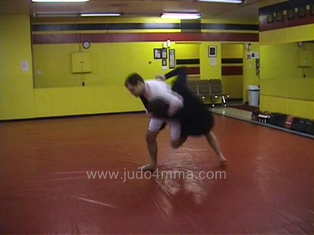 Click for a video showing a Judo for MMA technique called O Soto Makikomi for MMA - Major Outer Winding Hip for MMA