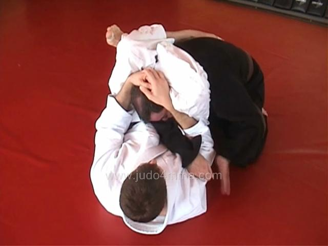 Click for a video showing a traditional Judo technique called Sankaku Jime - Triangle Choke, shown with two different entries