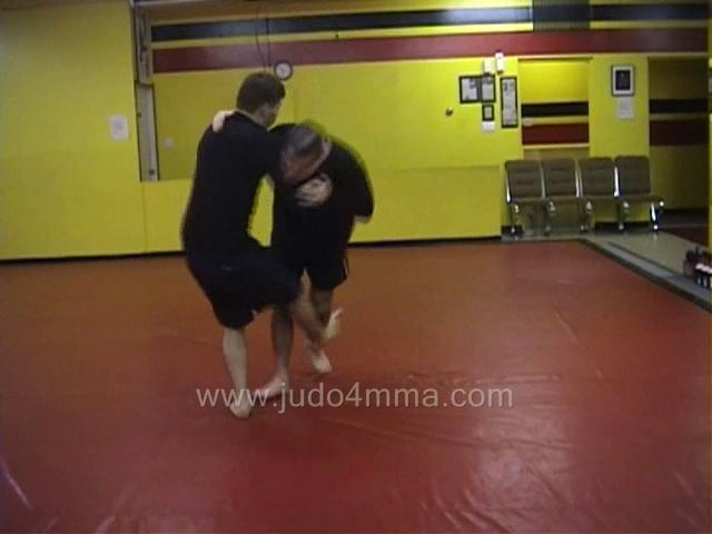 Click for a video showing a Judo for MMA technique called Sasae Tsurikomi Ashi for MMA - Sweeping Drawing Ankle Throw for MMA -  sweeping drawing ankle throw
