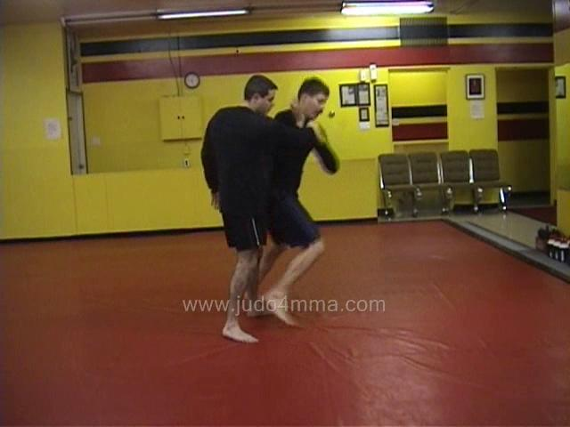Click for a video showing a Judo for MMA technique called Tai Otoshi for MMA - Body Drop for MMA