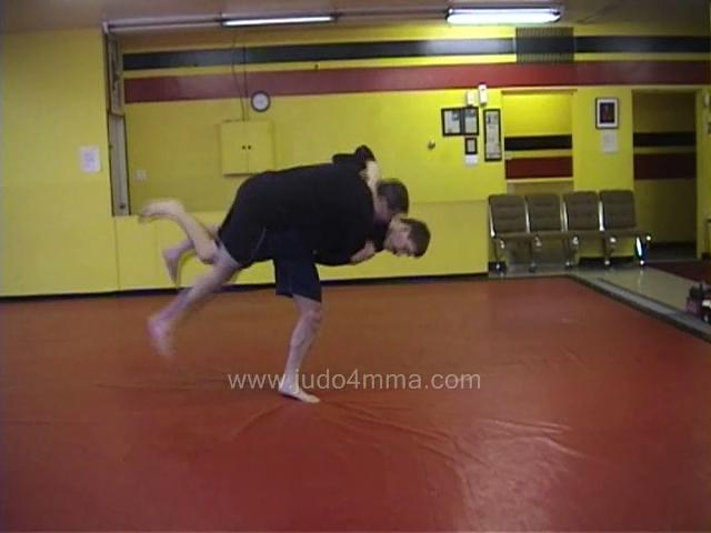 Click for a video showing a Judo for MMA technique called Uchi Mata for MMA - Inner Thigh for MMA