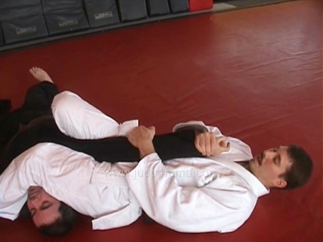 Click for a video showing how to do Ude Hishigi Juji Gatame - Cross Arm Lock