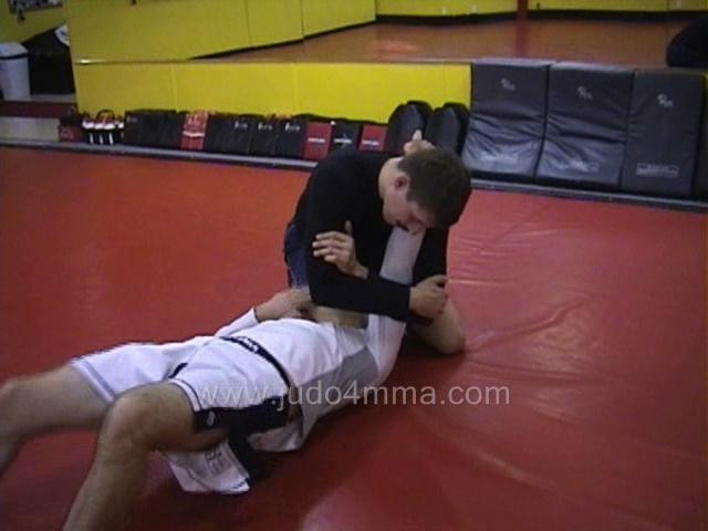 Click for a video showing a Judo for MMA technique called Ude Hishigi Ude Gatame - Arm Arm Lock for MMA