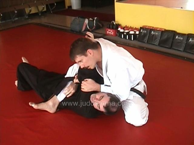 Click for a video showing how to do Uki Gatame - Floating Lock/Hold