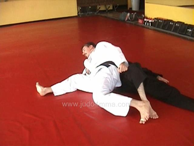 Click for a video showing how to do Ura Gatame - Rear Lock/Hold