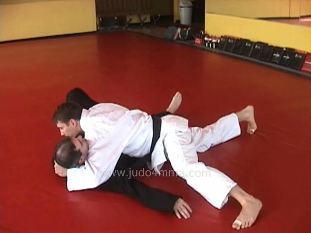 Click for a video showing how to do Yoko Shiho Gatame - Side Four Quarters Lock