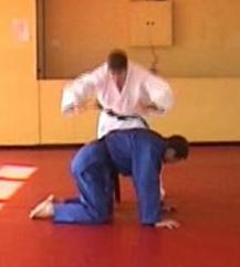 Click for a video showing how to do a Traditional Judo Breakfall Drill for Zempo Kai Ten - front roll.